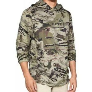 $65 Under Armour Tech Terry Hydro Hoodie Men's Sz